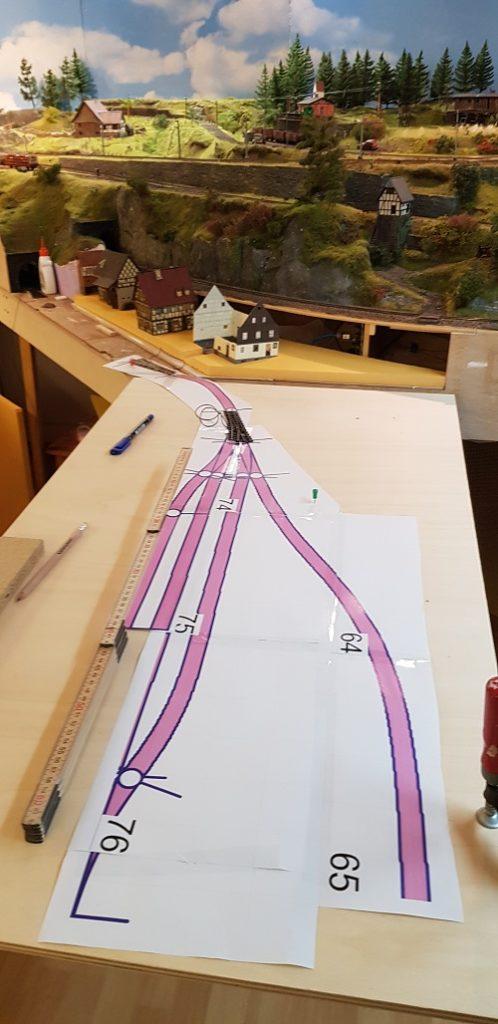 Karnsdorf H0e - Bau eines Schmalspursegments - Modelleisenbahn - Anfang Teil 2