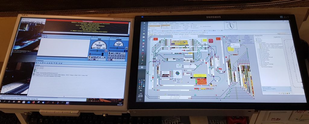 Monitor Modelleisenbahn